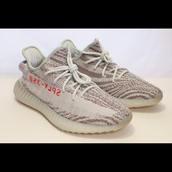 adidas Shoes   Yeezy Blue Tint 350 V2